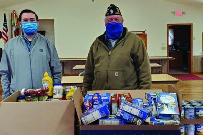 American Legion's Veterans food drive