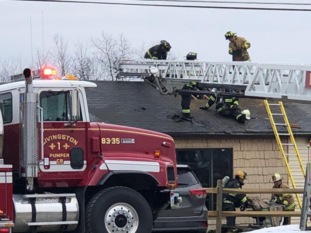 Chimney fire leads to minor damage