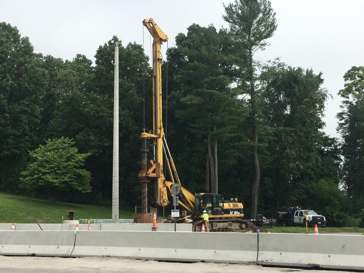 Cashless toll installation begins at RVW bridge