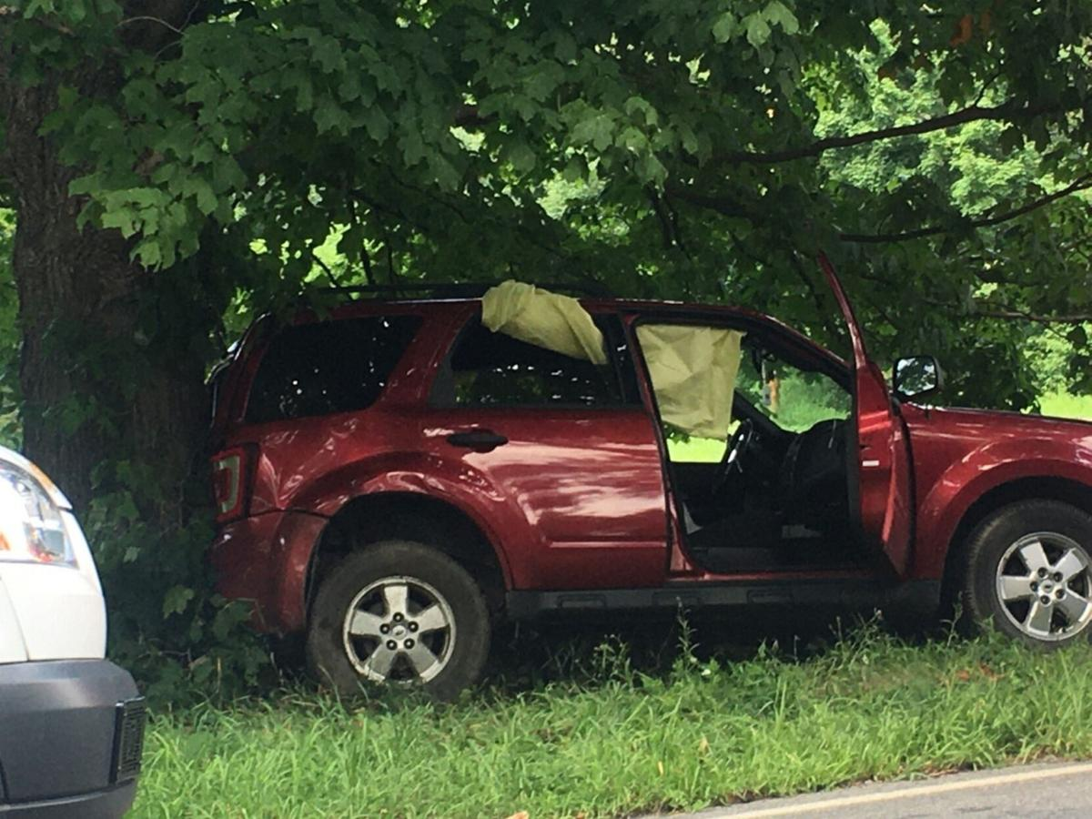 Hudson woman injured in Claverack accident