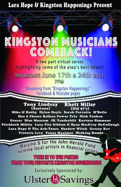 KINGSTON MUSICIANS COMEBACK