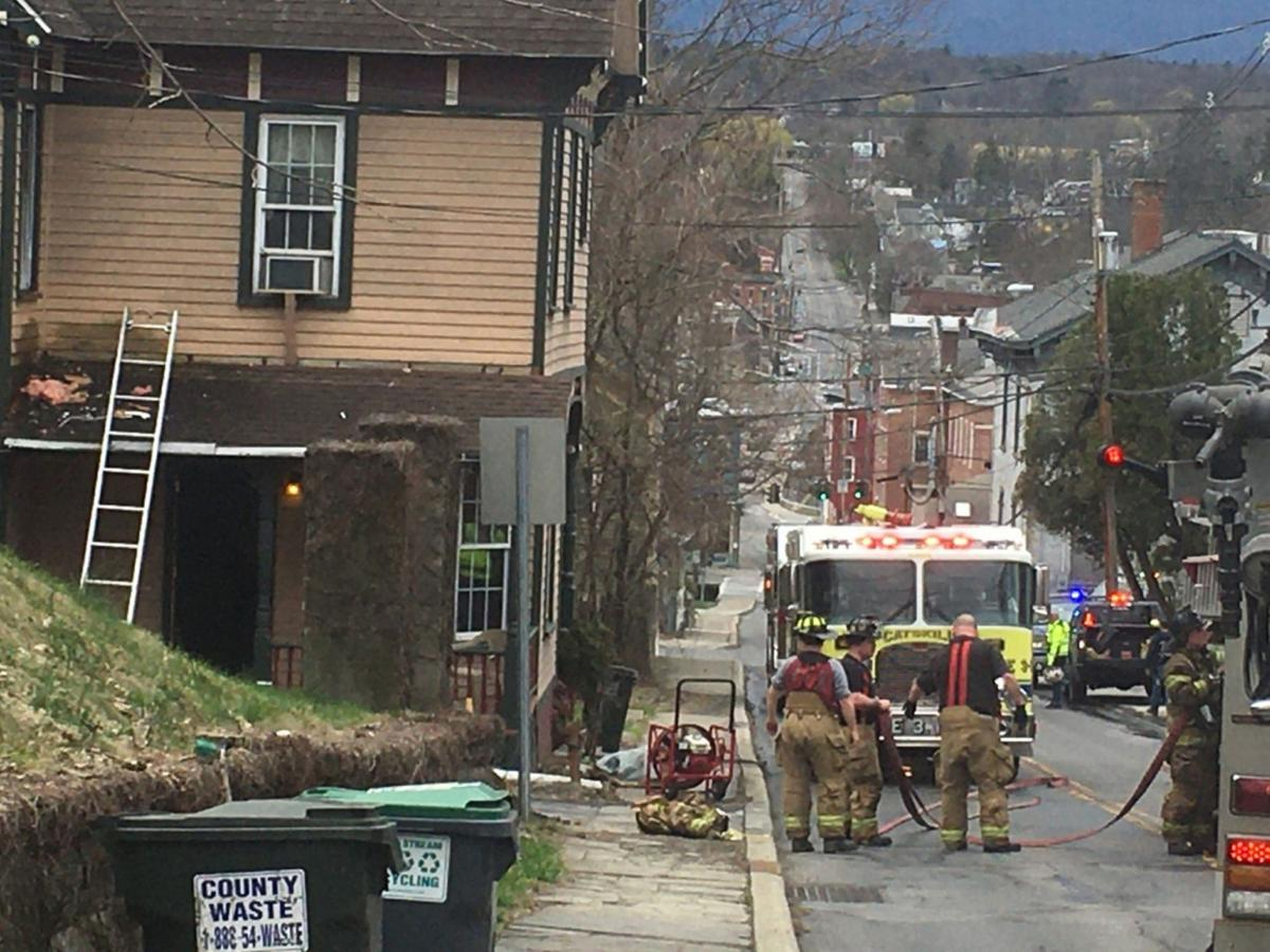 Fire damages Catskill apartment