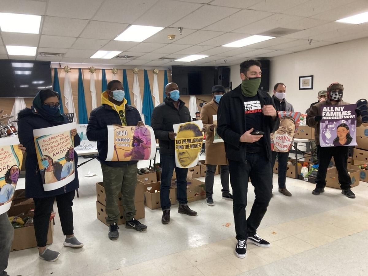 Advocates push COVID relief for immigrants