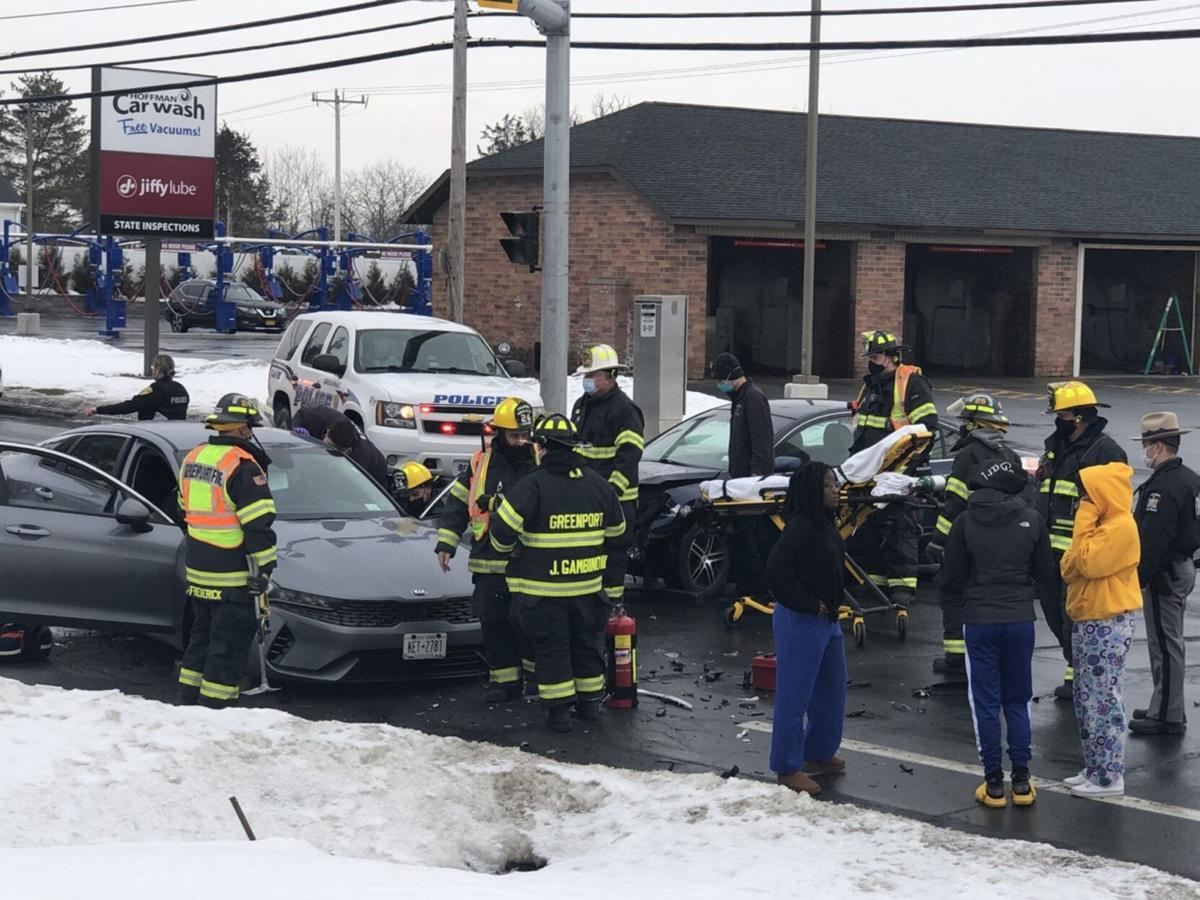Three injured in Greenport accident Monday