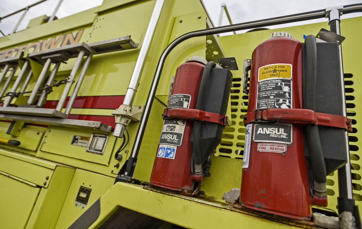 Toxins in firefighting foam will be eliminated