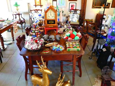 Holiday shop at Old Austerlitz Nov. 21 & 22