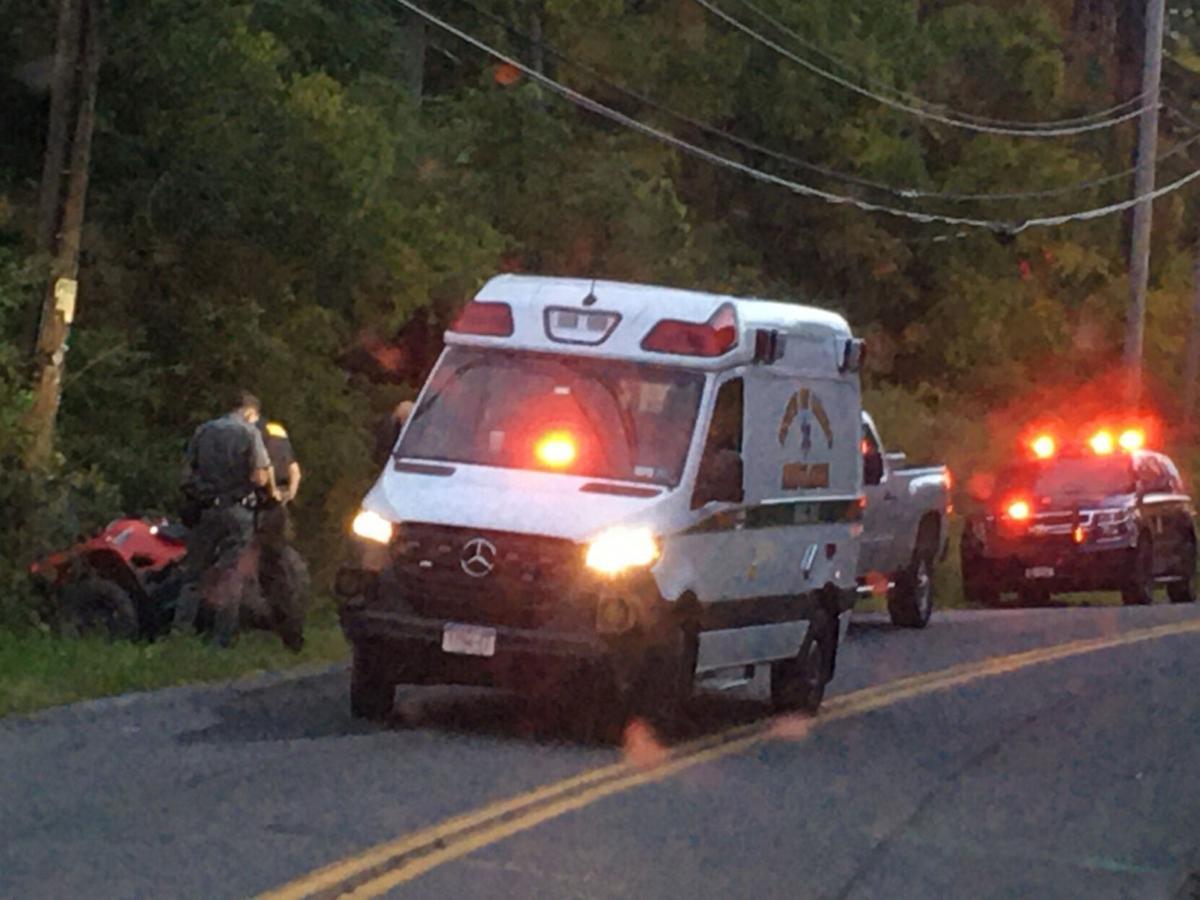 ATV crash leaves man in critical condition