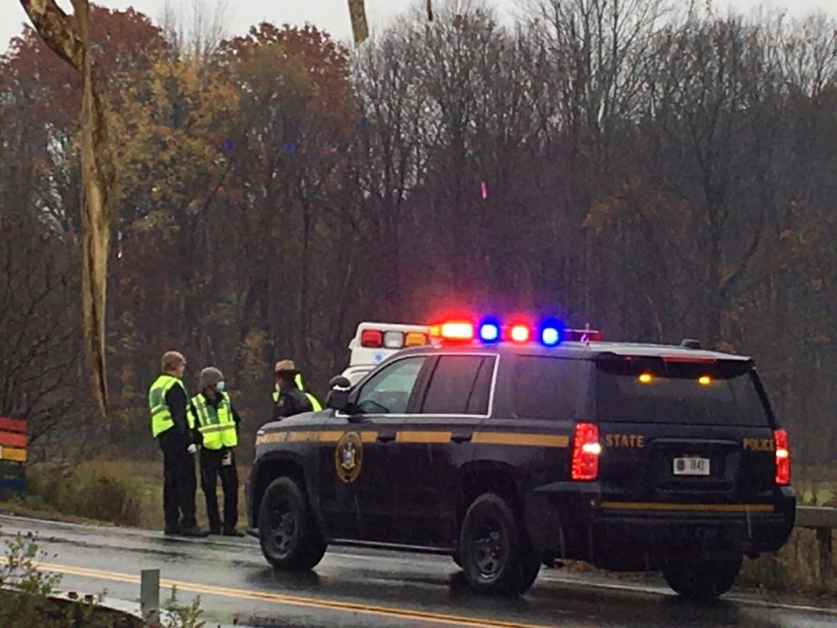 Canaan man treated at scene of crash