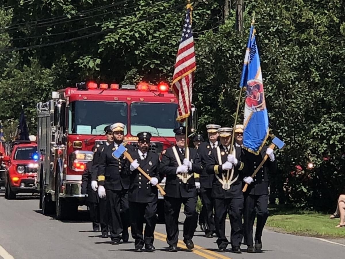 2021 Firefighters Convention trophies awarded
