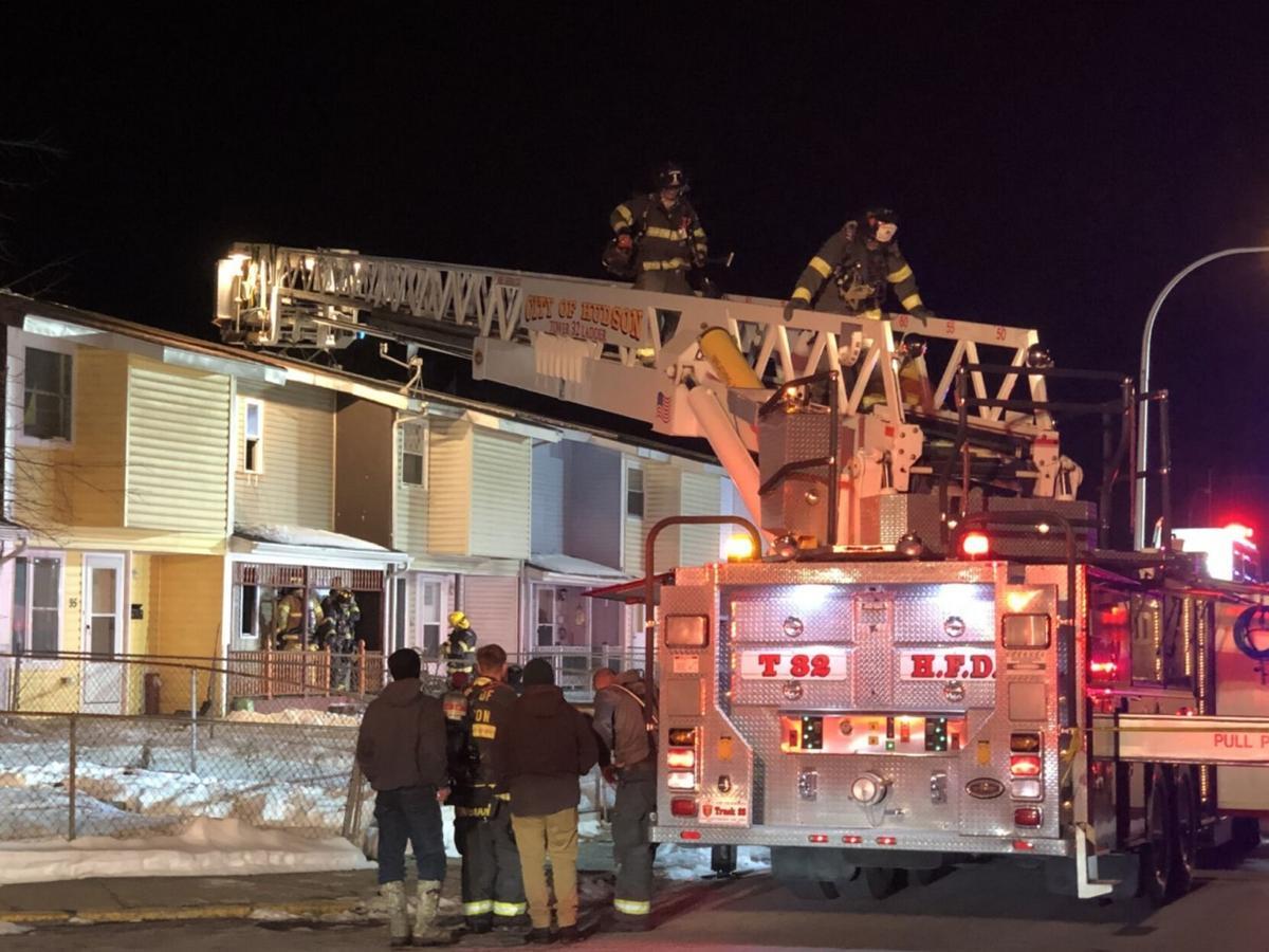 Police identify Hudson fire victim