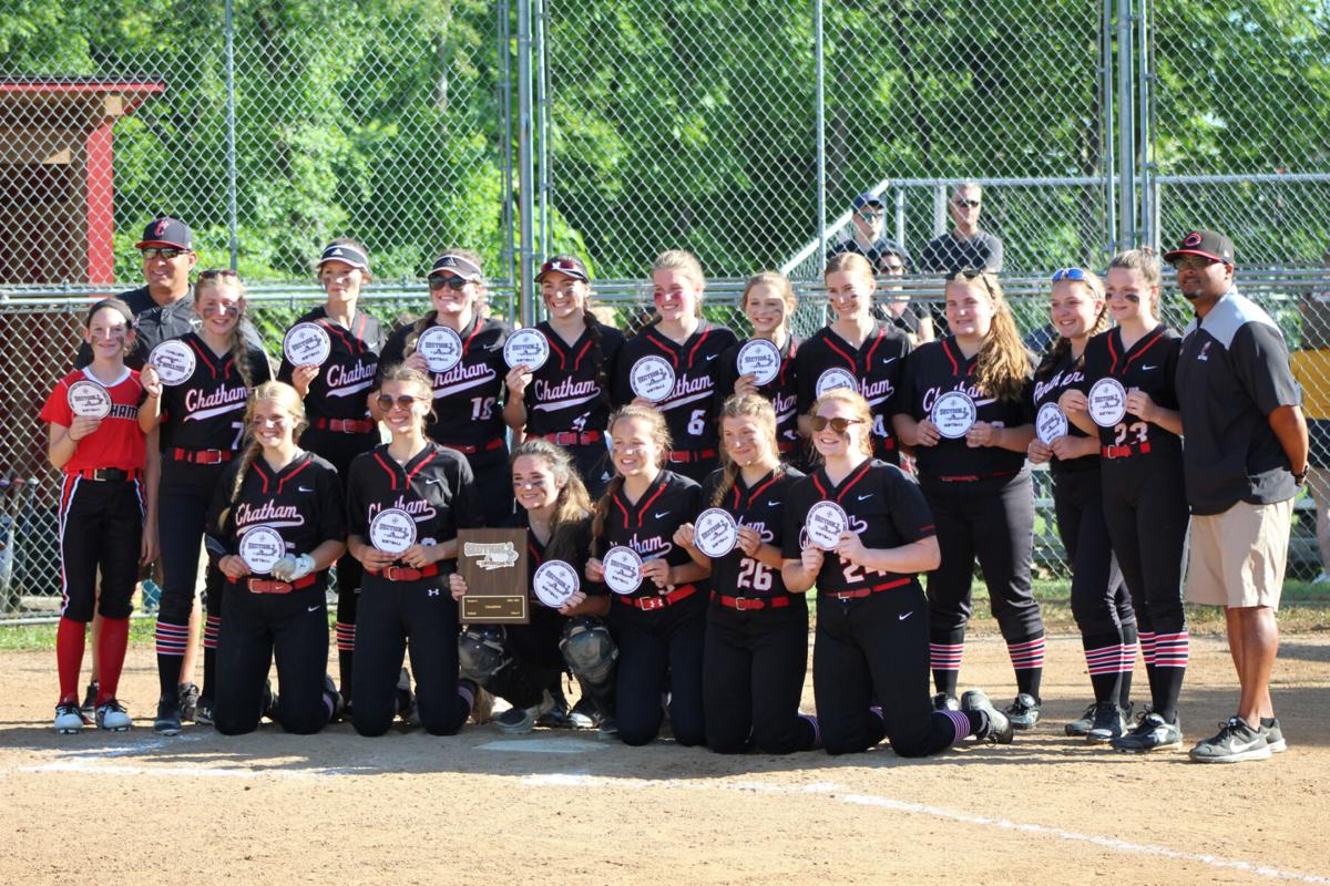 SECTION II SOFTBALL: Panthers down Warriors for Class C title