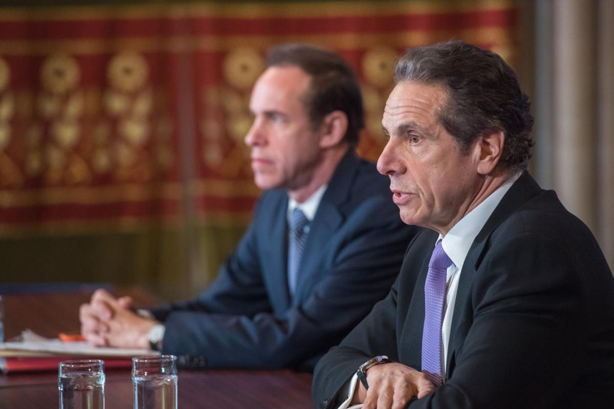 Cuomo: No more than 50% of workers can leave home