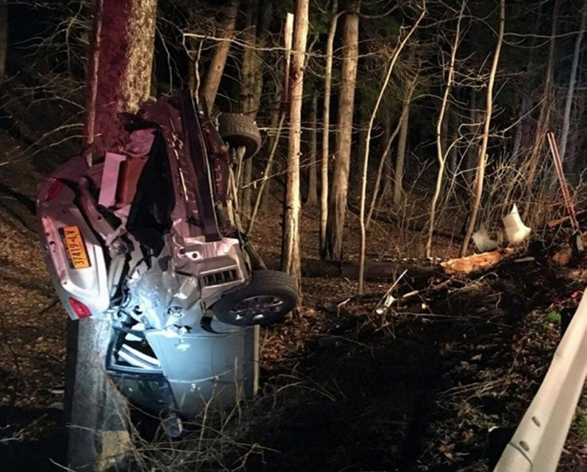 Police: Driver charged following crash in Canaan