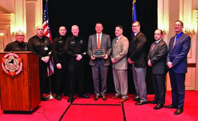Sheriff Apple presented with national award
