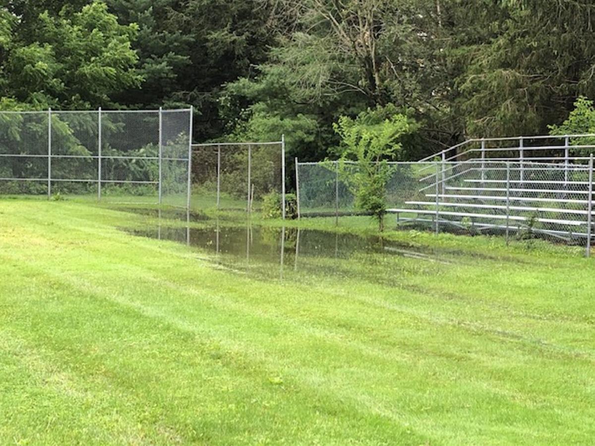 Hillsdale park flooding postpones events
