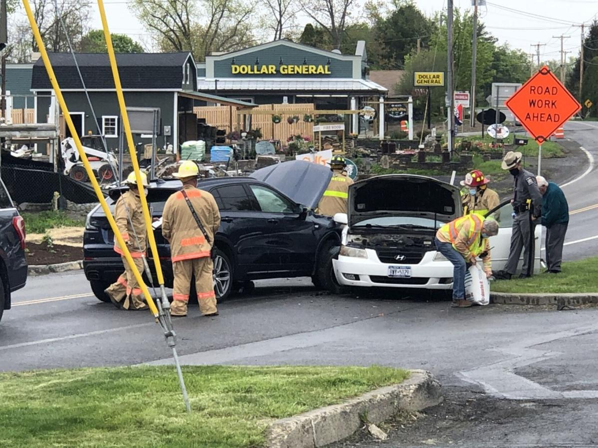 Germantown accident closes Route 9G