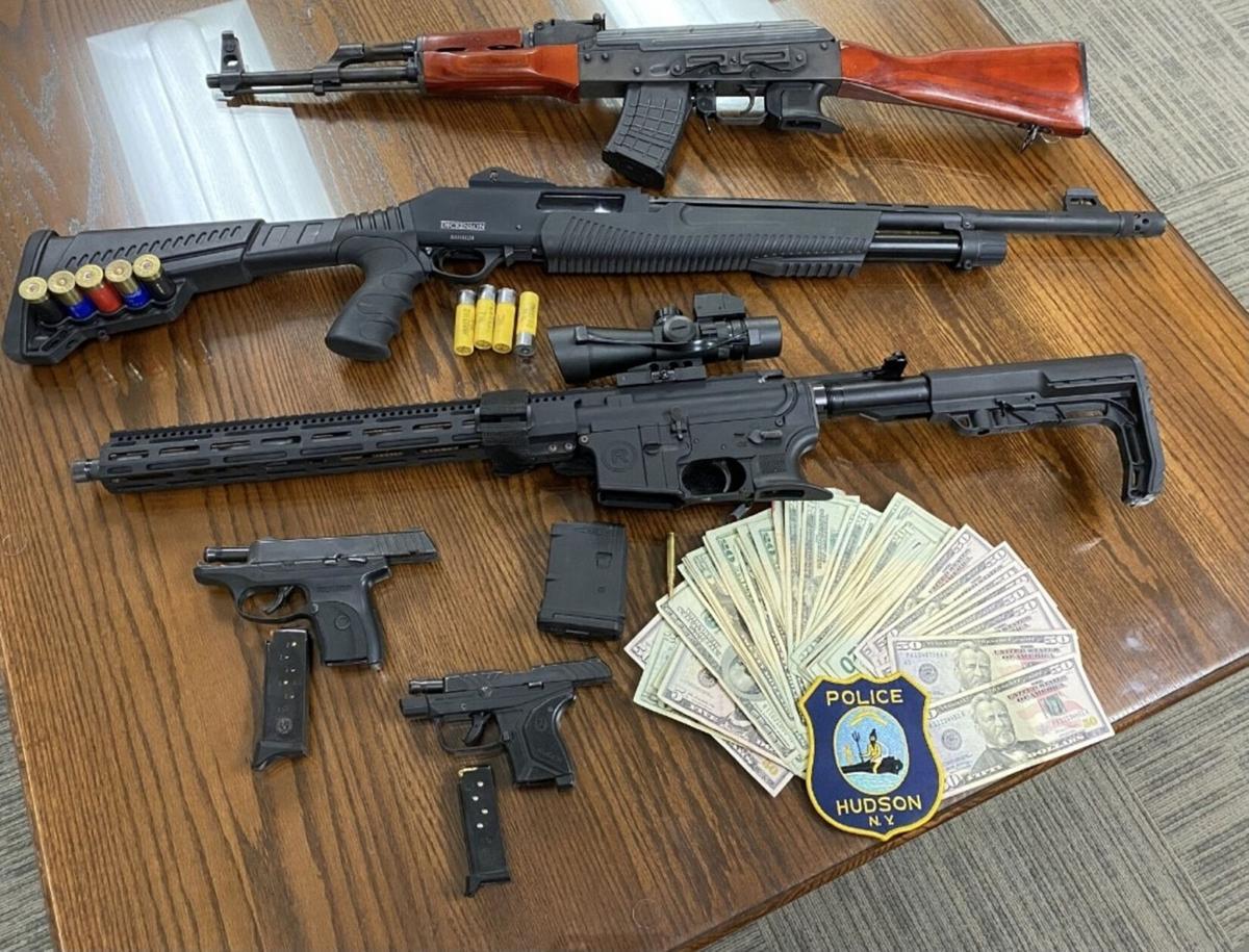 Teens charged in weapons seizure