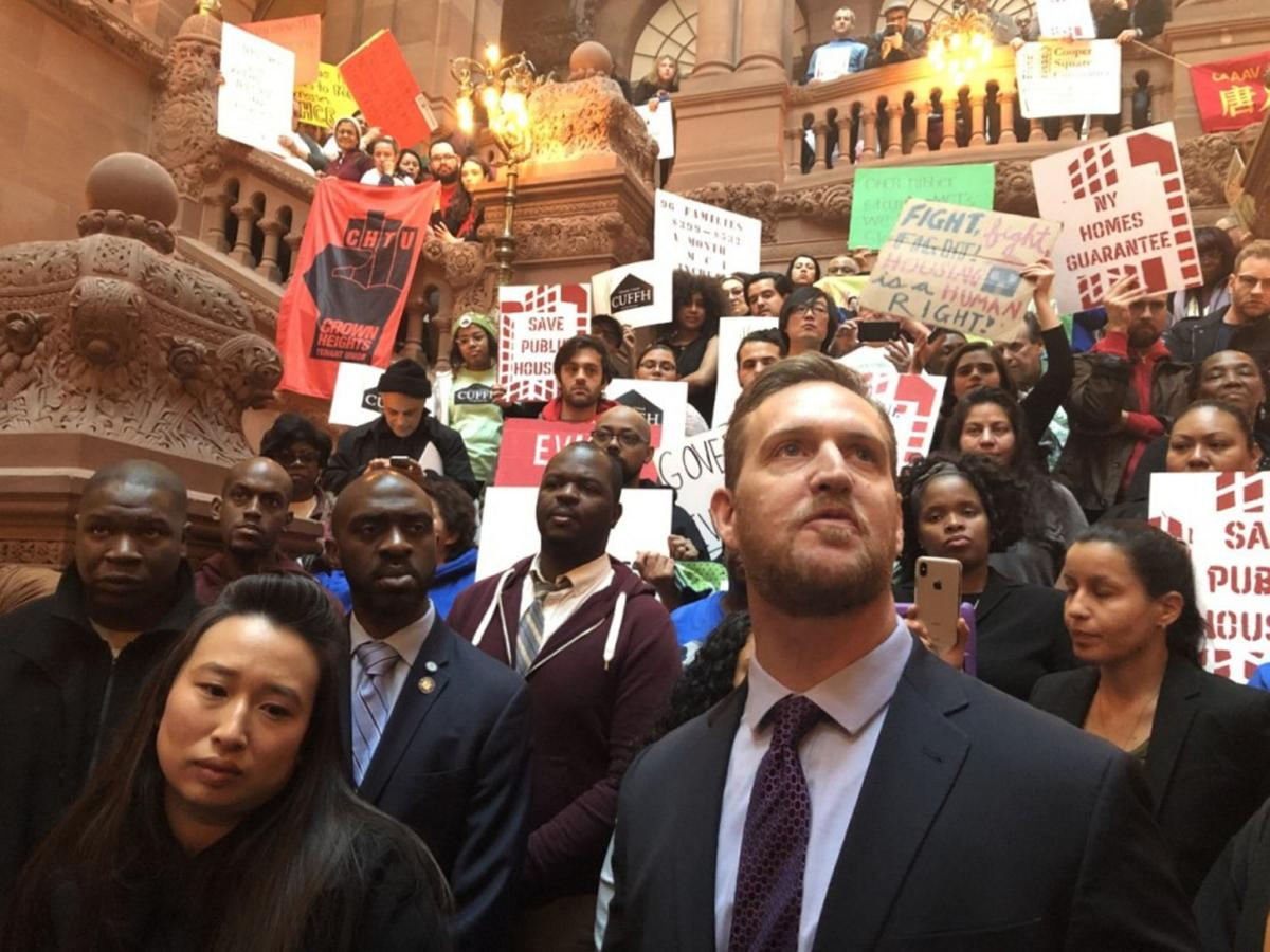 Activists rally for affordable housing