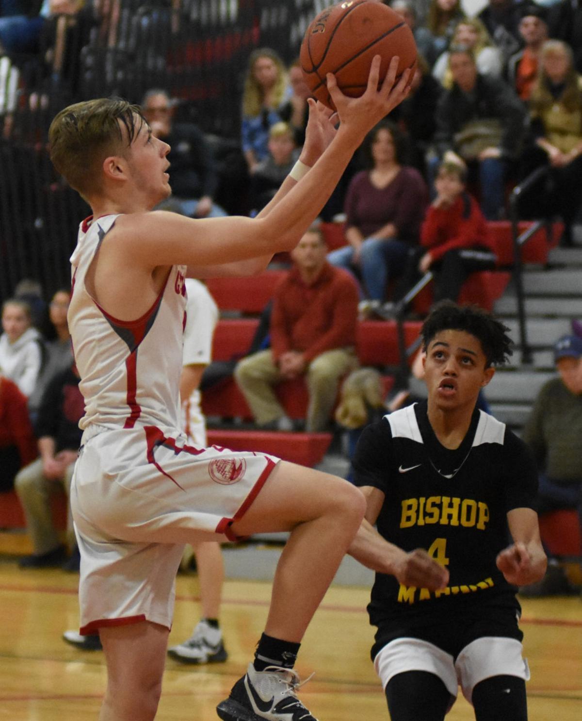 BOYS BASKETBALL: Bishop Maginn rolls to CHVL win over Germantown