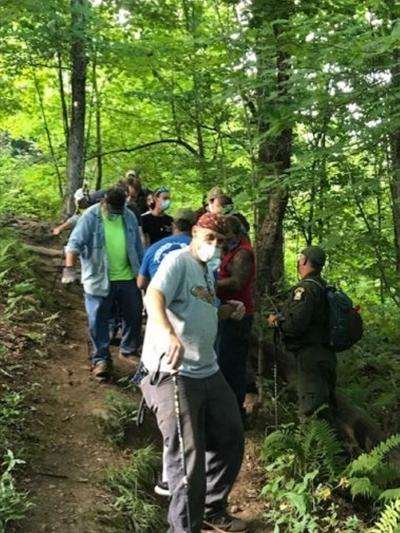 11 rescued by forest rangers in Greene County