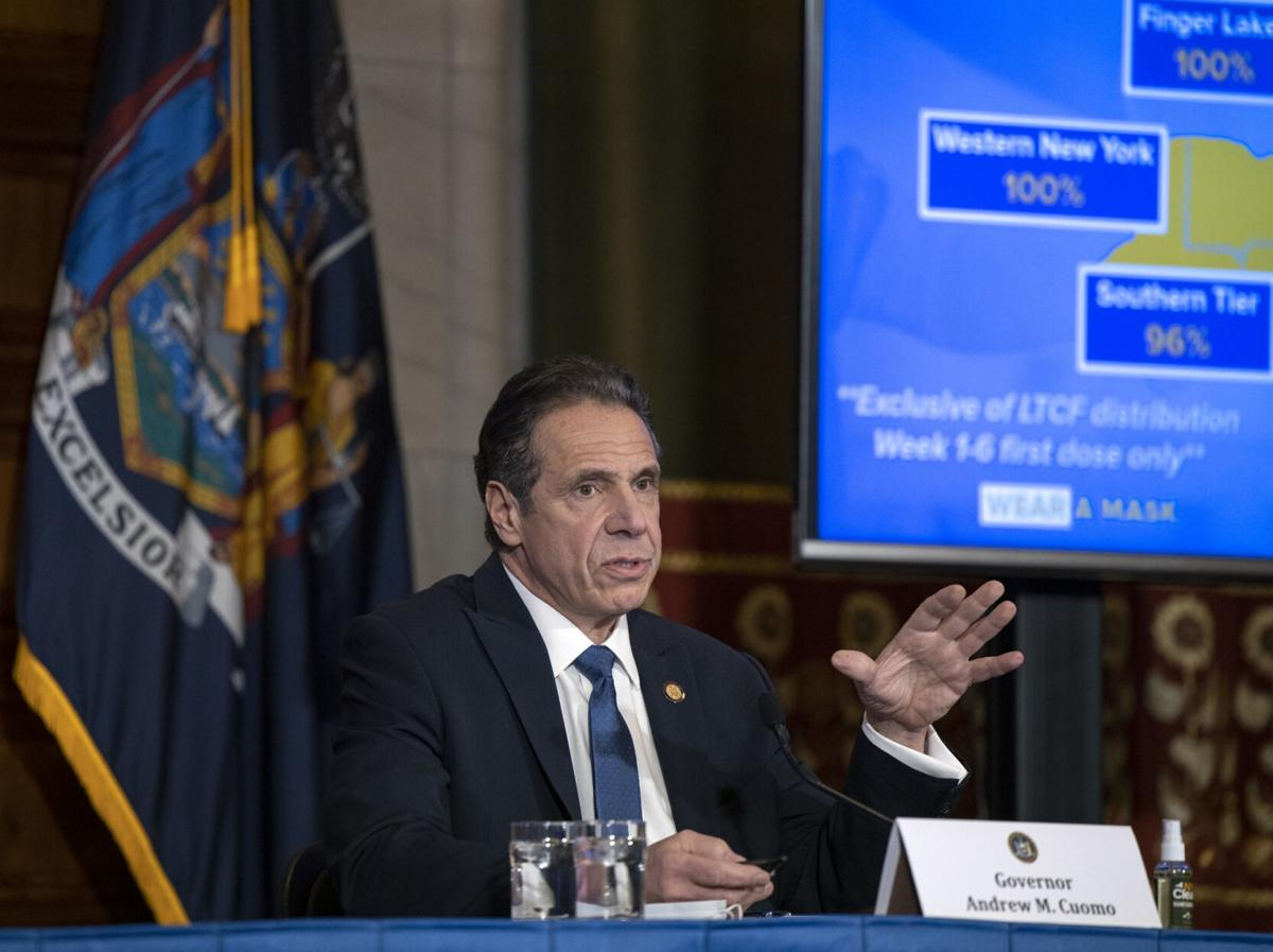 Cuomo brushes aside AG report
