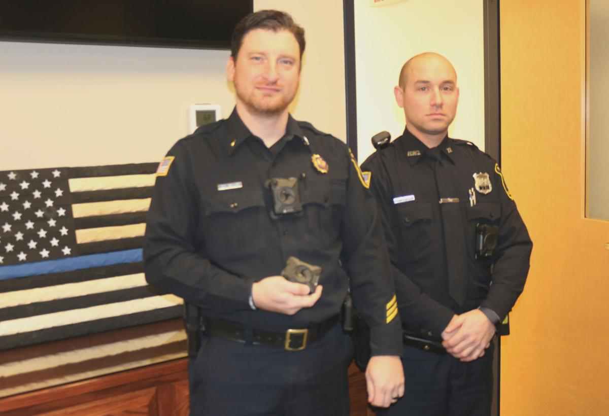 Body cameras patrol streets for first time