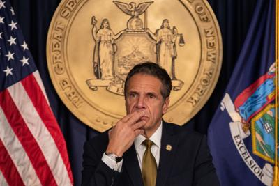 Poll: Cuomo's approval rating plummets