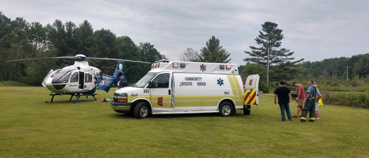 Construction accident injures two in Canaan