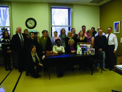 Court House staff donates to the Salvation Army