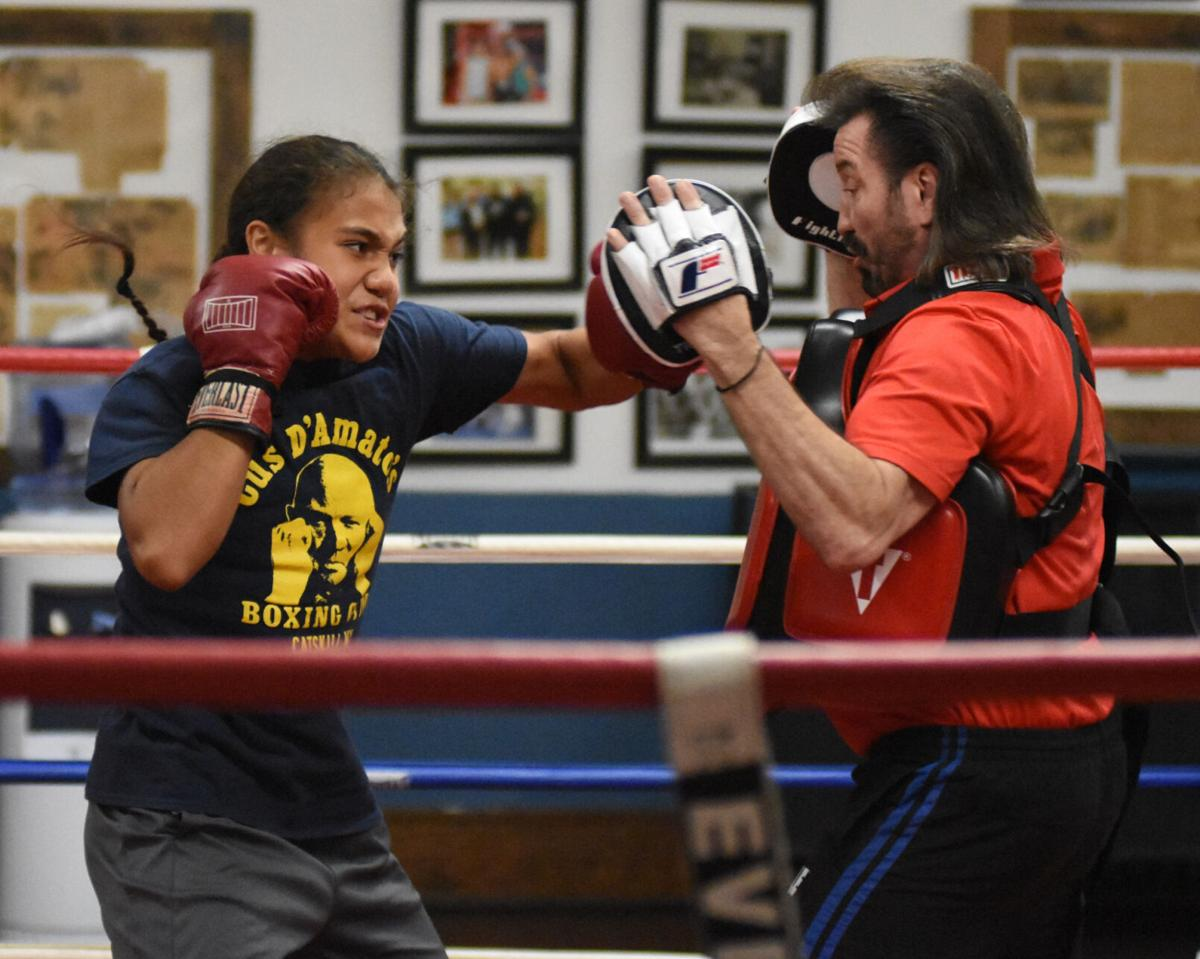 Catskill's Fei Faiva looks to shake up women's boxing
