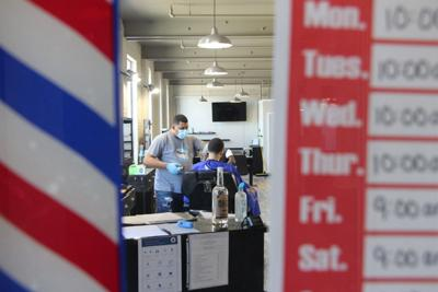 Barbering blue laws snipped