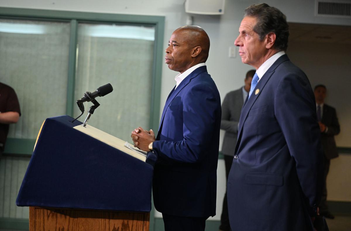 Gov. Cuomo, Adams announce youth jobs program to curb gun violence