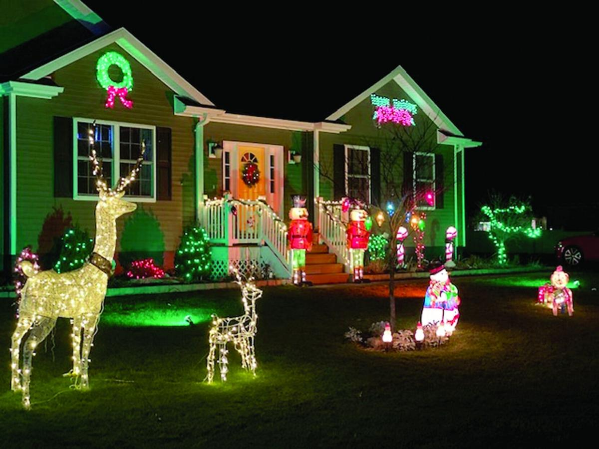 2020 Annual Holiday House Decorating Contest winners