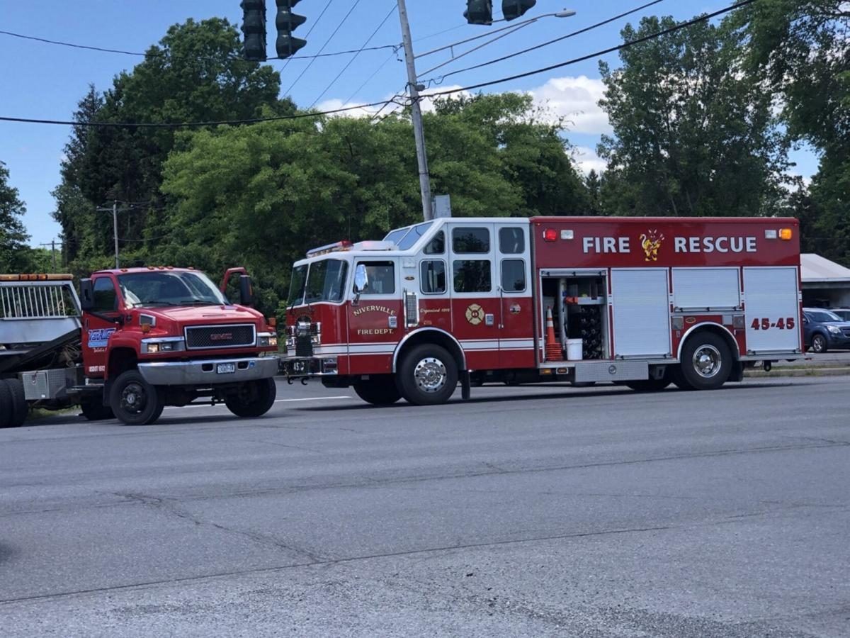 Hudson woman injured in two-car accident