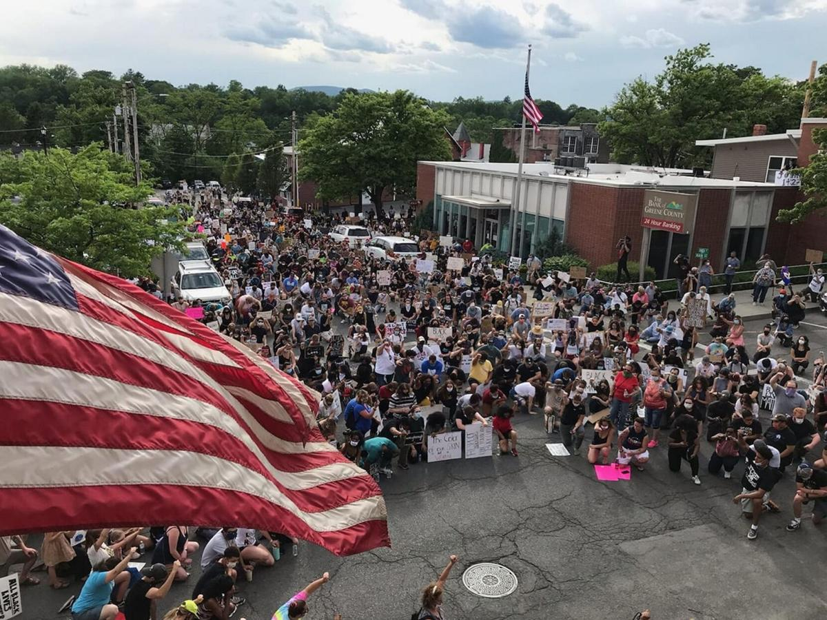 Hundreds march for justice