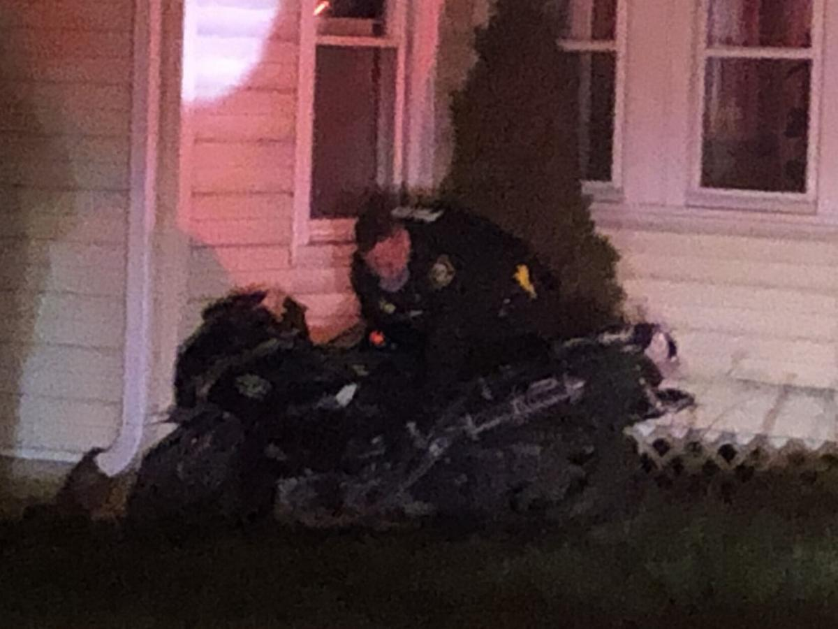 Police: Hudson man charged after motorcycle accident