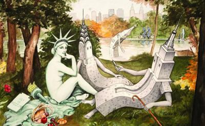 Hudson Talbott's 'River of Dreams' exhibition opens June 11 in Hudson Hall