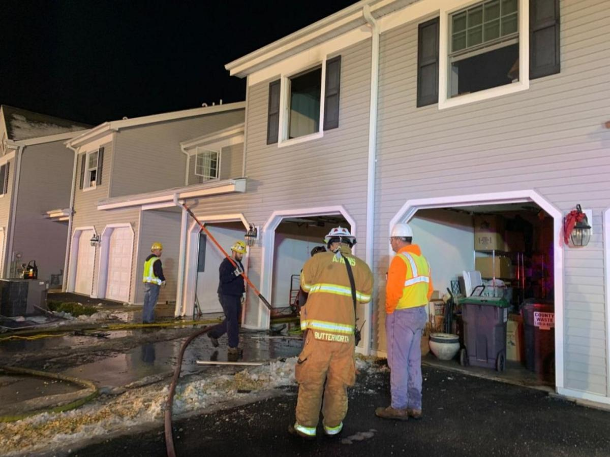 Neighbors assist Catskill fire victims