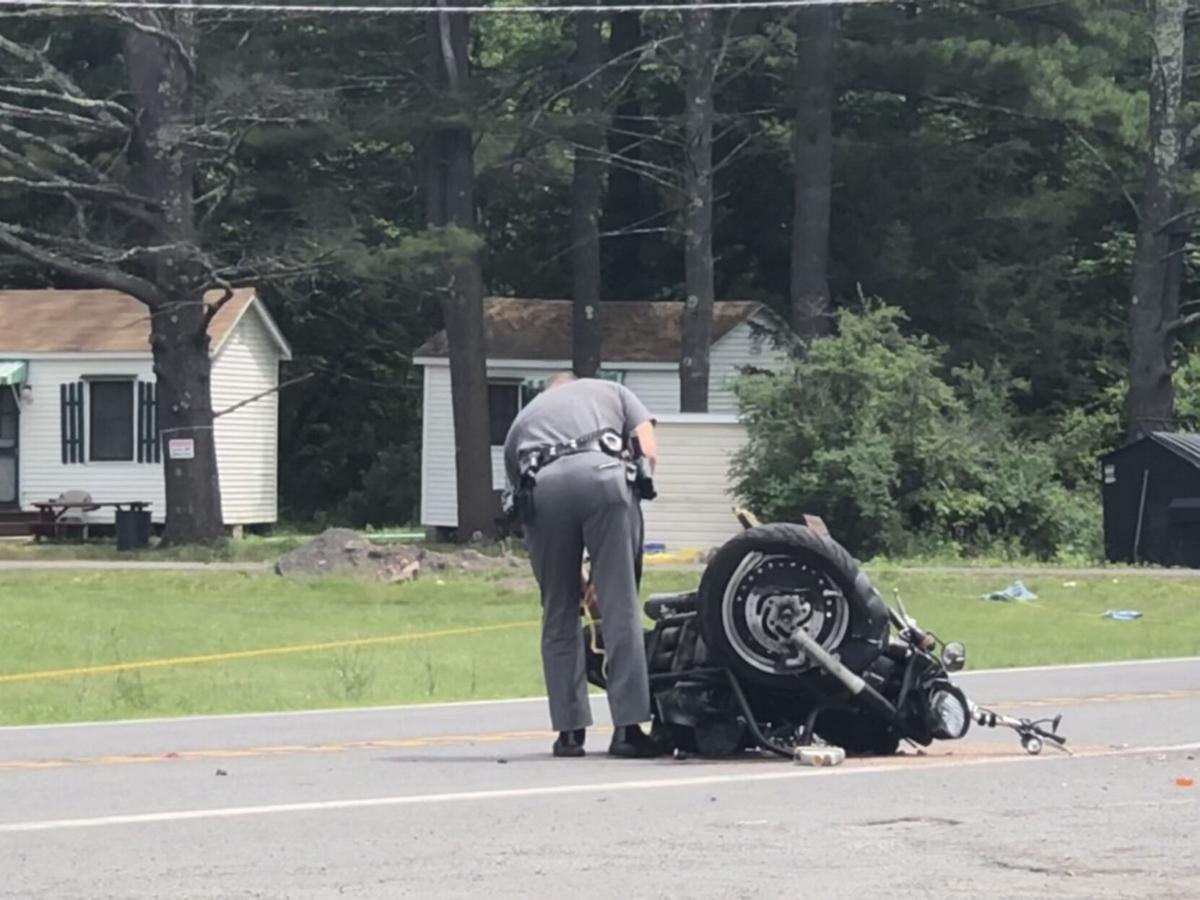 1 dead in Kiskatom motorcycle crash