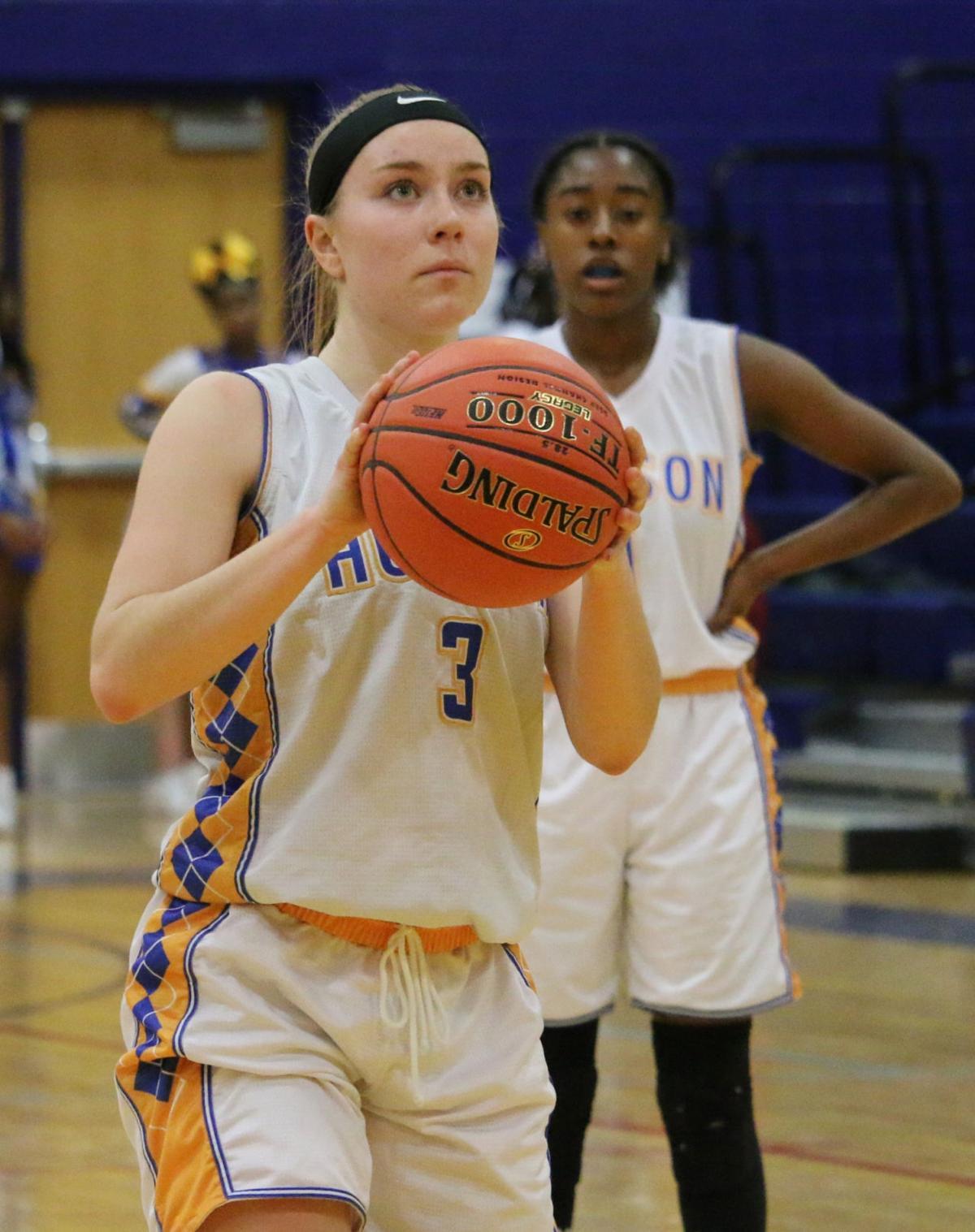 GIRLS BASKETBALL: Balanced scoring lifts Hudson