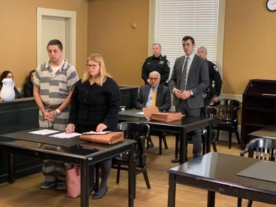 Guilty plea in stabbing death