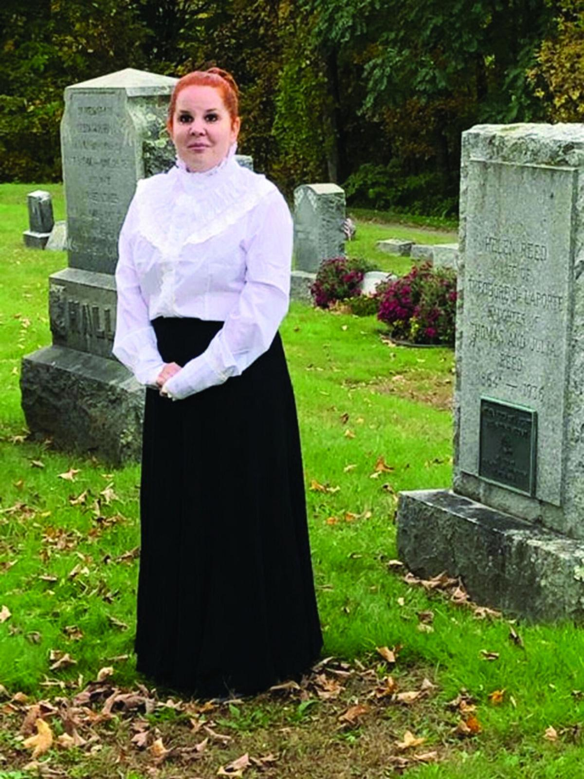 LIVING HISTORY CEMETERY TOURS