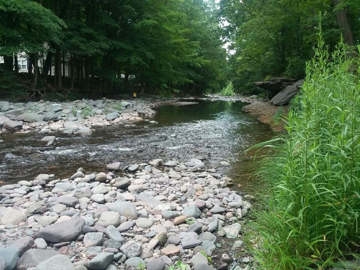 Town to remove temporary fencing at Tannery Bridge swimming hole