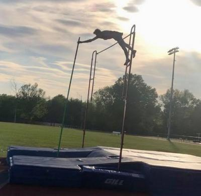 H.S. TRACK & FIELD: Howard III smashes his own school record