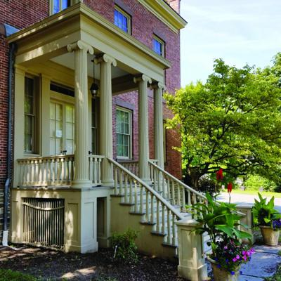 Ten Broeck Mansion is open with new exhibits