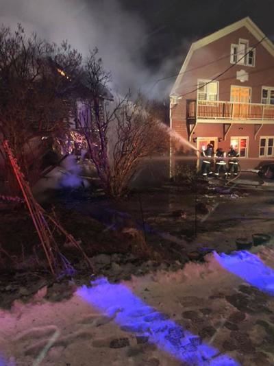 Flames destroy Tannersville home