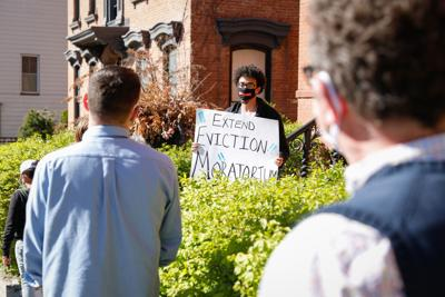 Protesters call for extension of eviction moratorium