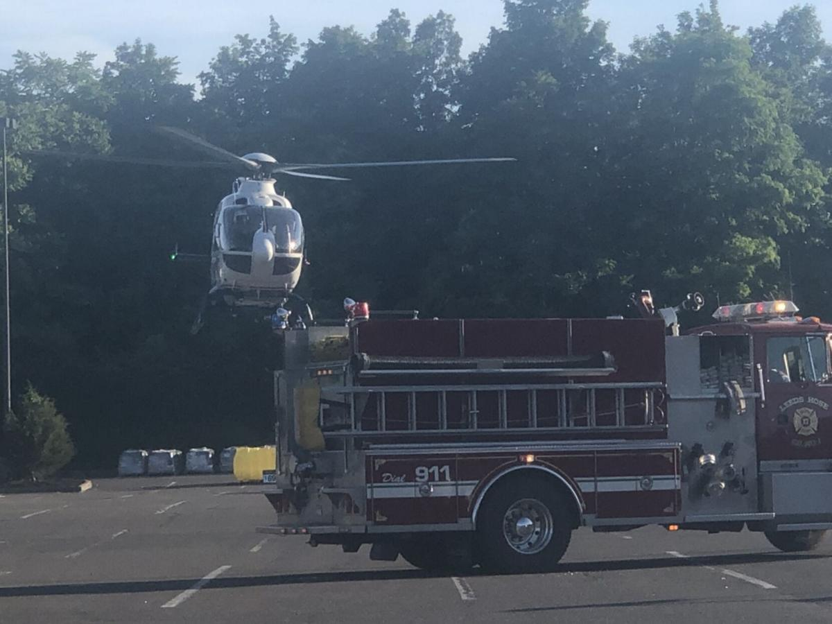 Catskill man airlifted after motorcycle accident
