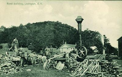 Greene History Notes: Road building in Lexington