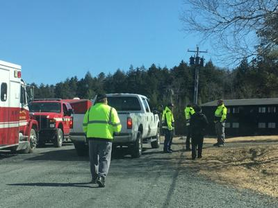 Hiker rescued in Greene County after falling 40 feet